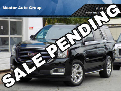 2017 GMC Yukon for sale at Master Auto Group in Raleigh NC