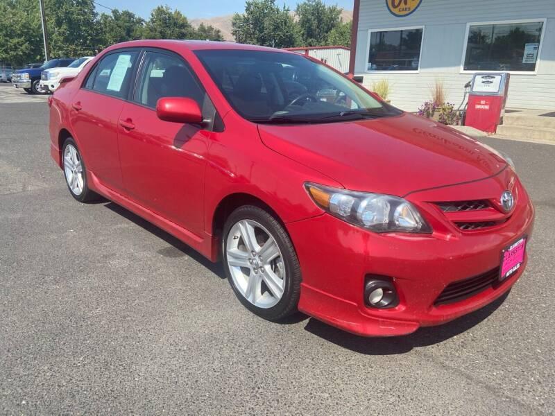 2013 Toyota Corolla for sale at Clarkston Auto Sales in Clarkston WA