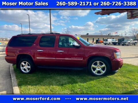 2009 Chevrolet Suburban for sale at Moser Motors Of Portland in Portland IN
