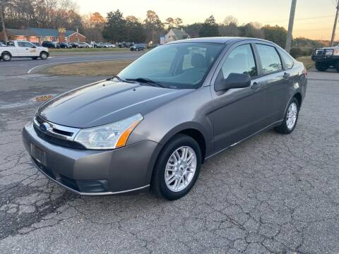 2009 Ford Focus for sale at CVC AUTO SALES in Durham NC