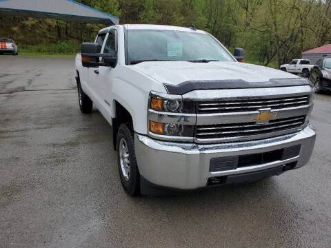2016 Chevrolet Silverado 2500HD for sale at A - K Motors Inc. in Vandergrift PA