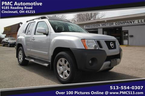 2010 Nissan Xterra for sale at PMC Automotive in Cincinnati OH