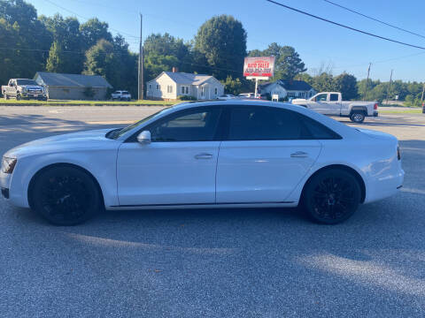 2013 Audi A8 L for sale at Stikeleather Auto Sales in Taylorsville NC