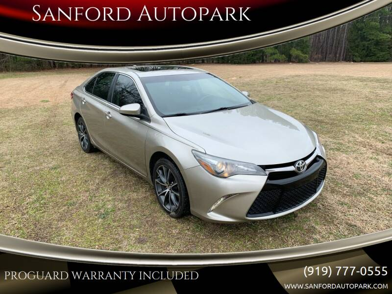 2015 Toyota Camry for sale at Sanford Autopark in Sanford NC
