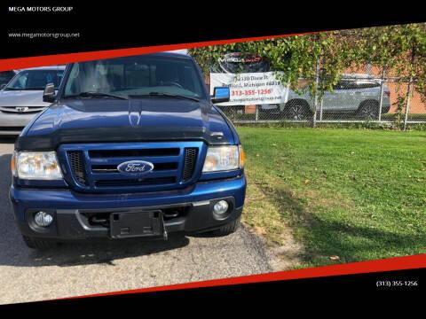 2010 Ford Ranger for sale at MEGA MOTORS GROUP in Redford MI