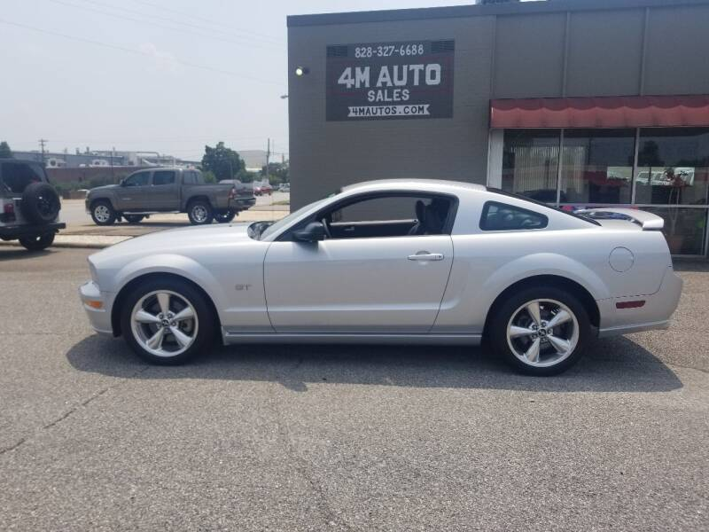 2008 Ford Mustang for sale at 4M Auto Sales   828-327-6688   4Mautos.com in Hickory NC