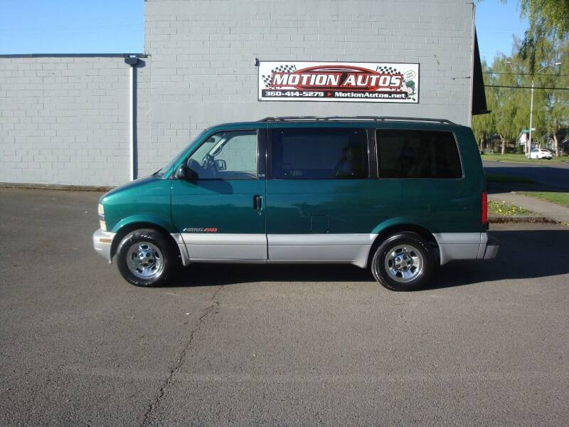1999 Chevrolet Astro for sale at Motion Autos in Longview WA