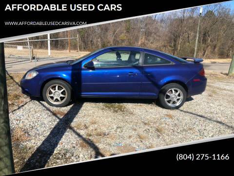 2007 Pontiac G5 for sale at AFFORDABLE USED CARS in Richmond VA