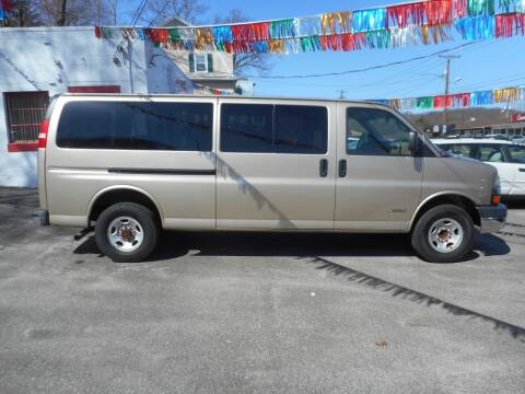 2005 Chevrolet Express Passenger for sale at Ricciardi Auto Sales in Waterbury CT