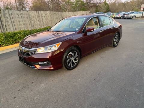 2017 Honda Accord for sale at Super Bee Auto in Chantilly VA