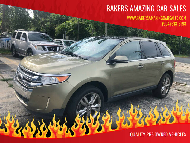 2013 Ford Edge for sale at Bakers Amazing Car Sales in Jacksonville FL