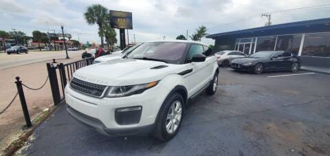 2017 Land Rover Range Rover Evoque Coupe for sale at Empire Car Sales in Miami FL