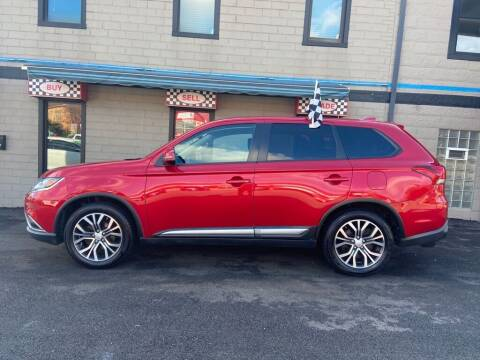2017 Mitsubishi Outlander for sale at Sisson Pre-Owned in Uniontown PA