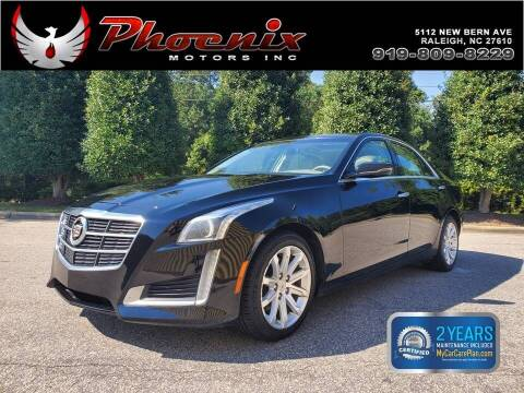 2014 Cadillac CTS for sale at Phoenix Motors Inc in Raleigh NC