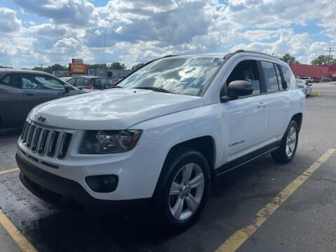 2014 Jeep Compass for sale at Daniel Auto Sales inc in Clinton Township MI