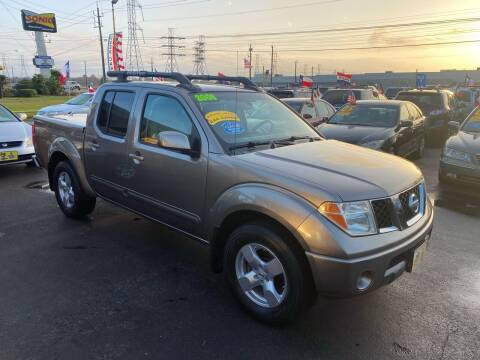 2006 Nissan Frontier for sale at Texas 1 Auto Finance in Kemah TX