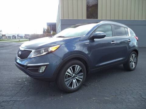 2015 Kia Sportage for sale at Niewiek Auto Sales in Grand Rapids MI