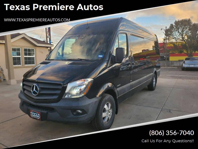 2016 Mercedes-Benz Sprinter Passenger for sale at Texas Premiere Autos in Amarillo TX