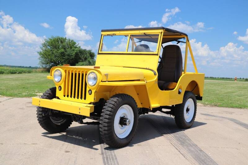 1946 Willys Jeep for sale in Clarence, IA