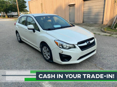 2014 Subaru Impreza for sale at Horizon Auto Sales in Raleigh NC