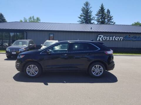 2017 Ford Edge for sale at ROSSTEN AUTO SALES in Grand Forks ND