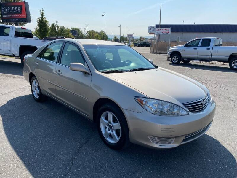 2005 Toyota Camry for sale at Rides Unlimited in Nampa ID