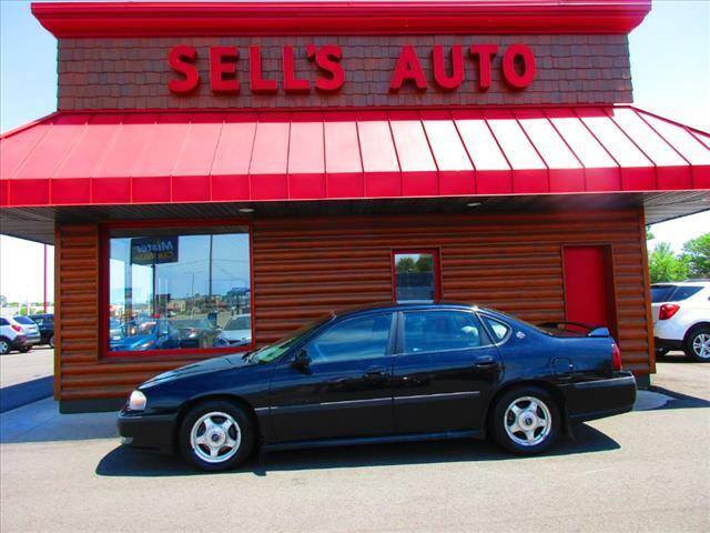 2001 Chevrolet Impala for sale at Sells Auto INC in Saint Cloud MN