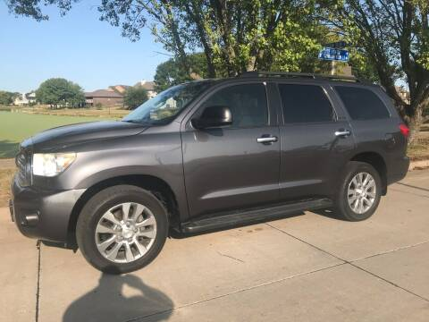 2011 Toyota Sequoia for sale at Crowne Motors in Newton IA