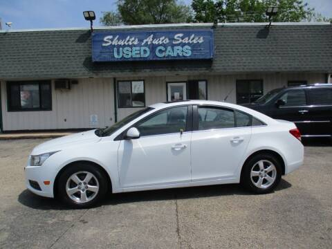 2012 Chevrolet Cruze for sale at SHULTS AUTO SALES INC. in Crystal Lake IL