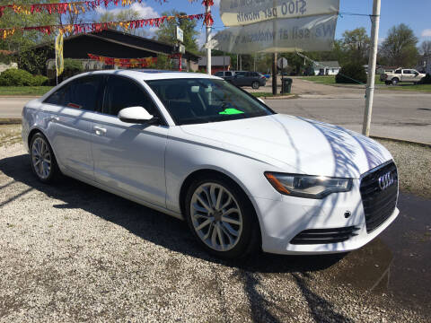 2012 Audi A6 for sale at Antique Motors in Plymouth IN