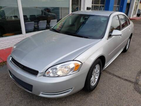 2012 Chevrolet Impala for sale at AutoMotion Sales in Franklin OH