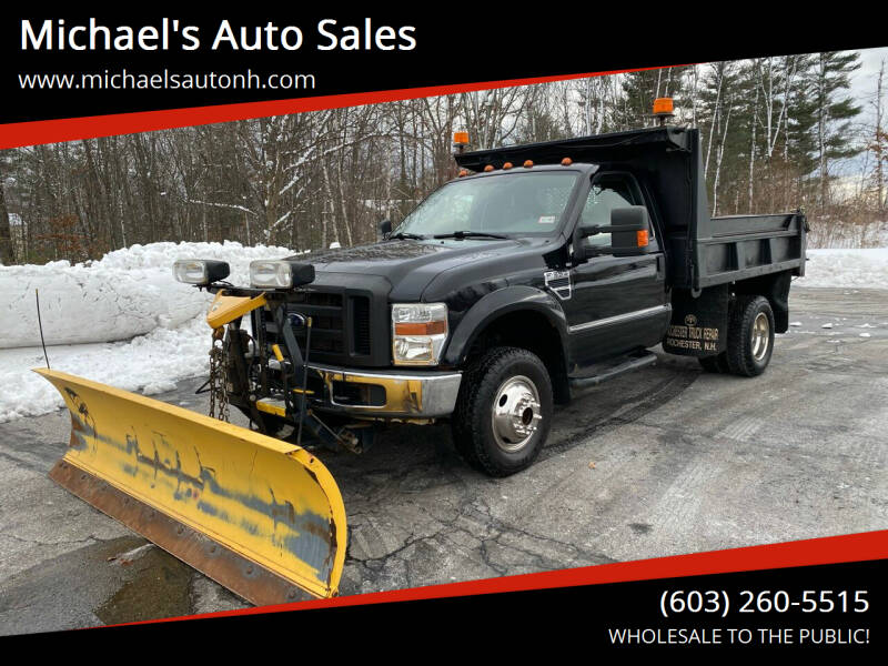 2008 Ford F-350 Super Duty for sale at Michael's Auto Sales in Derry NH