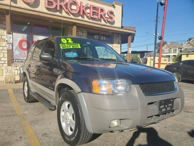 2002 Ford Escape for sale at USA Auto Brokers in Houston TX
