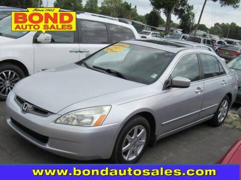 2003 Honda Accord for sale at Bond Auto Sales in St Petersburg FL