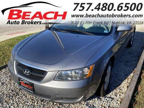 2007 Hyundai Sonata for sale at Beach Auto Brokers in Norfolk VA