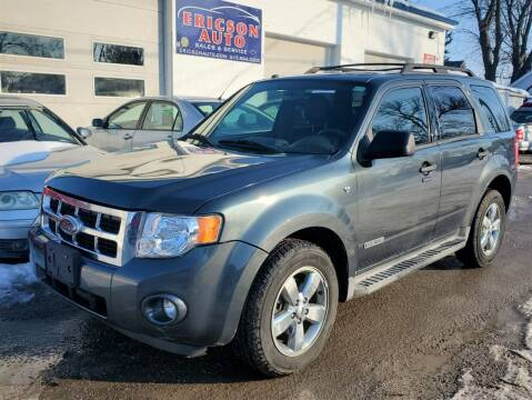 2008 Ford Escape for sale at Ericson Auto in Ankeny IA