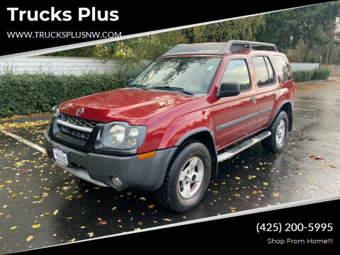 2004 Nissan Xterra for sale at Trucks Plus in Seattle WA