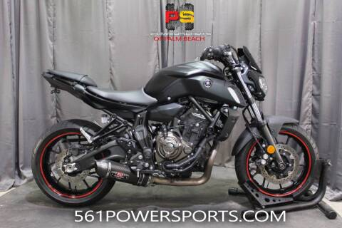 2019 Yamaha MT-07 for sale at Powersports of Palm Beach in Hollywood FL