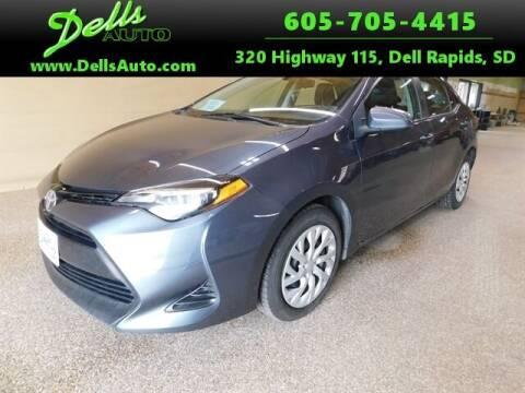 2017 Toyota Corolla for sale at Dells Auto in Dell Rapids SD