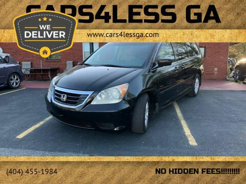 2009 Honda Odyssey for sale at Cars4Less GA in Alpharetta GA