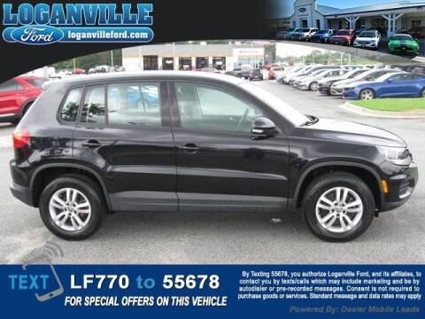 2014 Volkswagen Tiguan for sale at Loganville Quick Lane and Tire Center in Loganville GA