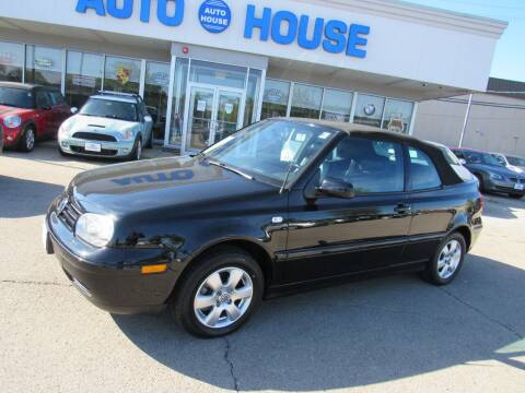 2002 Volkswagen Cabrio for sale at Auto House Motors in Downers Grove IL
