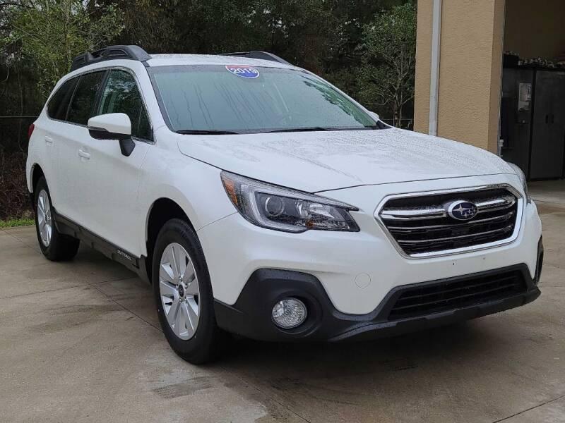 2019 Subaru Outback for sale at Jeff's Auto Sales & Service in Port Charlotte FL