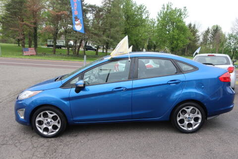 2011 Ford Fiesta for sale at GEG Automotive in Gilbertsville PA