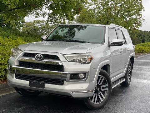 2016 Toyota 4Runner for sale at William D Auto Sales in Norcross GA