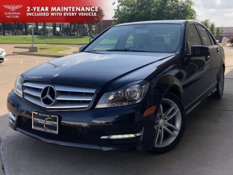 2012 Mercedes-Benz C-Class for sale at European Motors Inc in Plano TX
