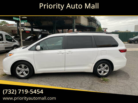 2015 Toyota Sienna for sale at Mr. Minivans Auto Sales - Priority Auto Mall in Lakewood NJ