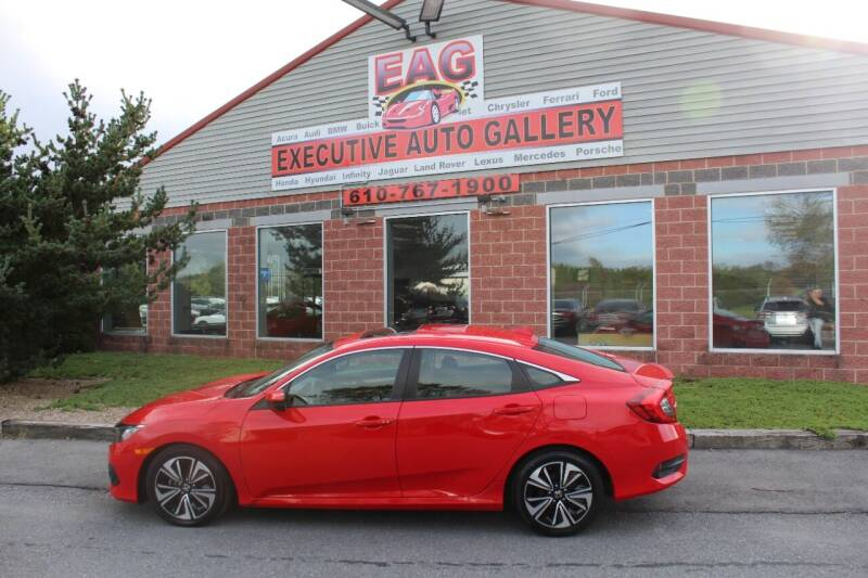 2017 Honda Civic for sale at EXECUTIVE AUTO GALLERY INC in Walnutport PA