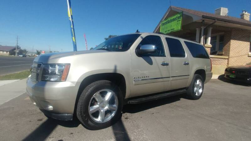 2013 Chevrolet Suburban for sale at Everett Automotive Group in Pleasant Grove UT