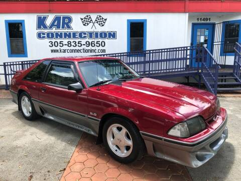 1993 Ford Mustang for sale at Kar Connection in Miami FL